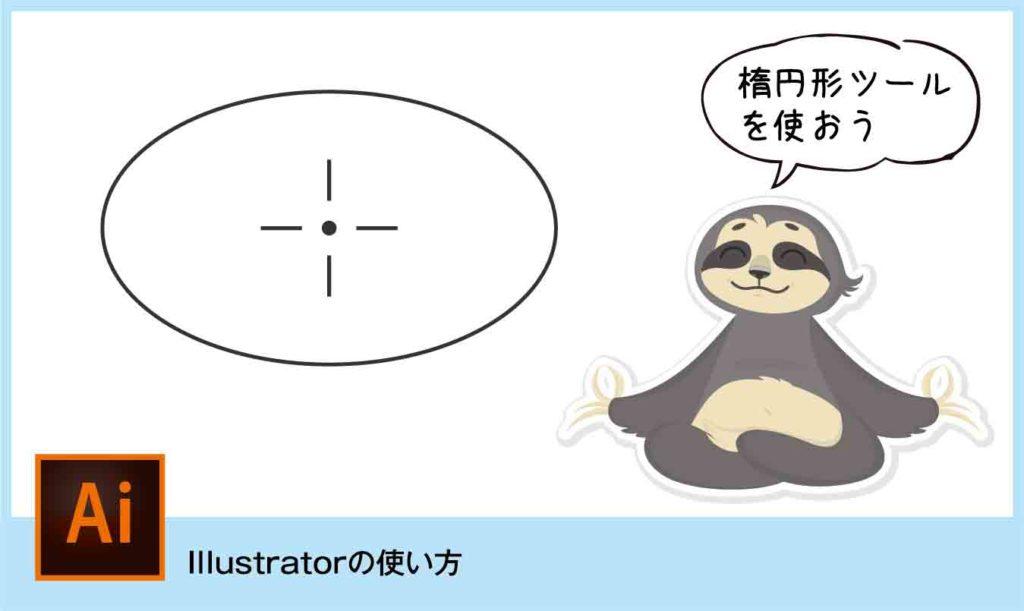 illustratorの楕円形ツールが使えない時の表示