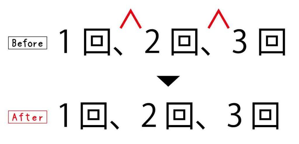 Illustratorでテキストの文字間隔を均等に調整する方法