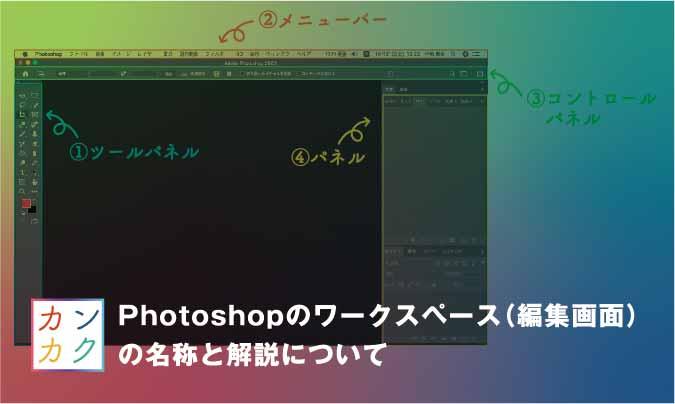 Photoshop ワークスペース